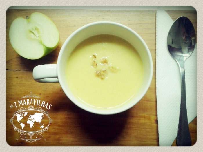 celery apple soup