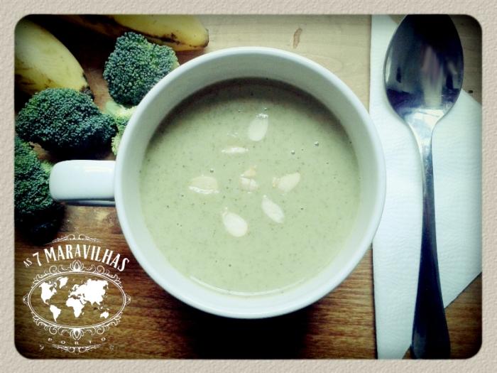 brocolos banana soup