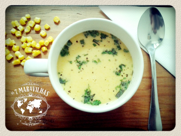 coconut sweet corn soup