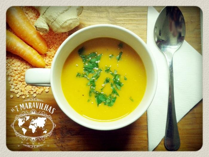 lentil carrot soup