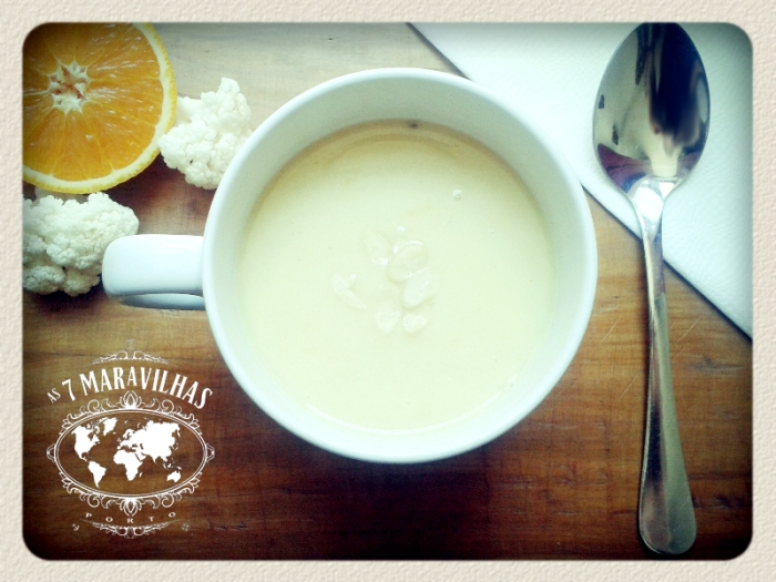 cauliflower orange soup