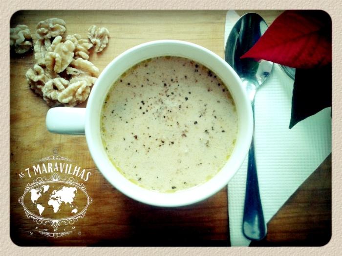 mushroom walnut soup
