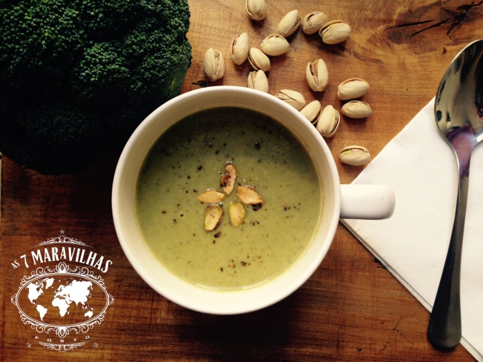 broccoli pistachio soup