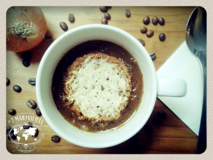 onion coffee soup