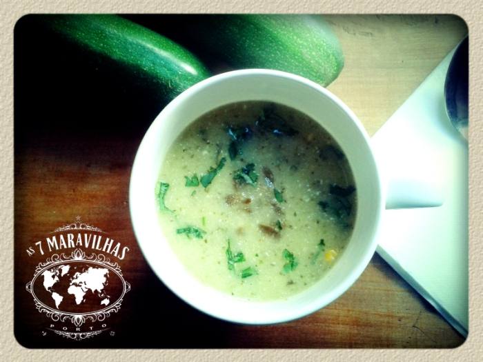 mexican courgette soup
