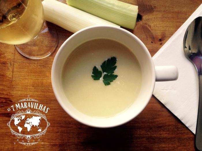vichyssoise leek soup