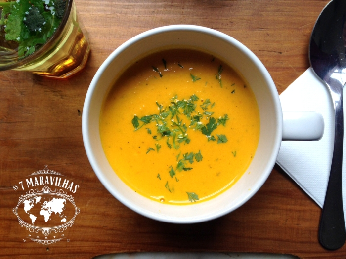 1001 nights carrot soup