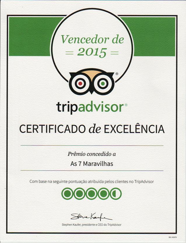 tripadvisor excelencia 2015